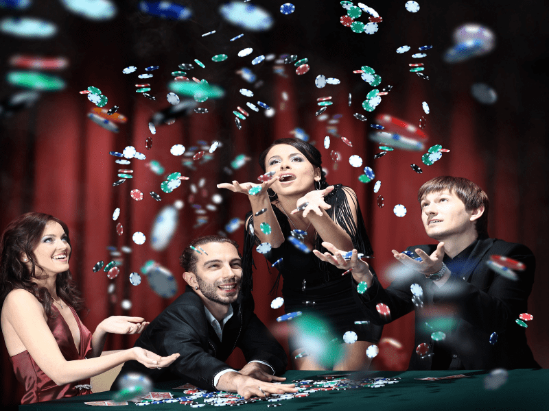 Poker at Casino Party in [location]
