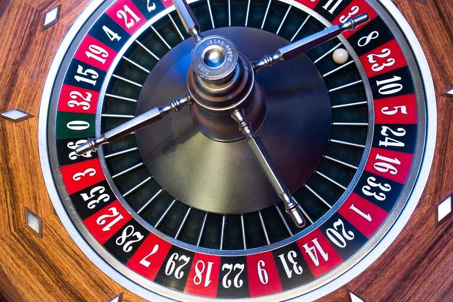 Roulette Table at Casino Party in [location] Casino Party Pro