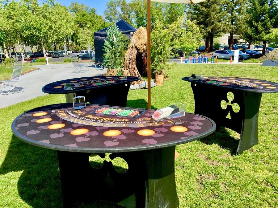 Out Door Casino Party in [location]